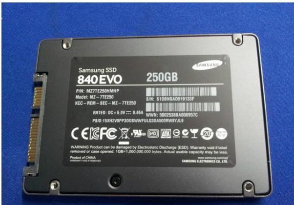 三星250G固态硬盘