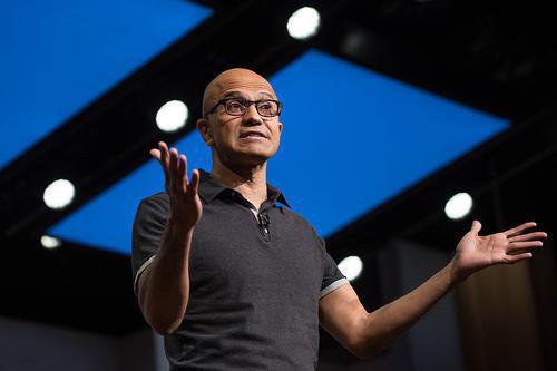 微软CEO萨蒂亚·纳德拉成为新任董事长