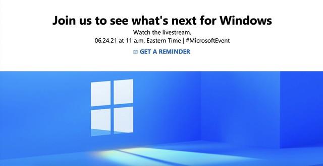 微软6月24日发布下一代Windows操作系统